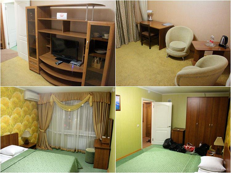 Гостиница Горняк в Шахтах