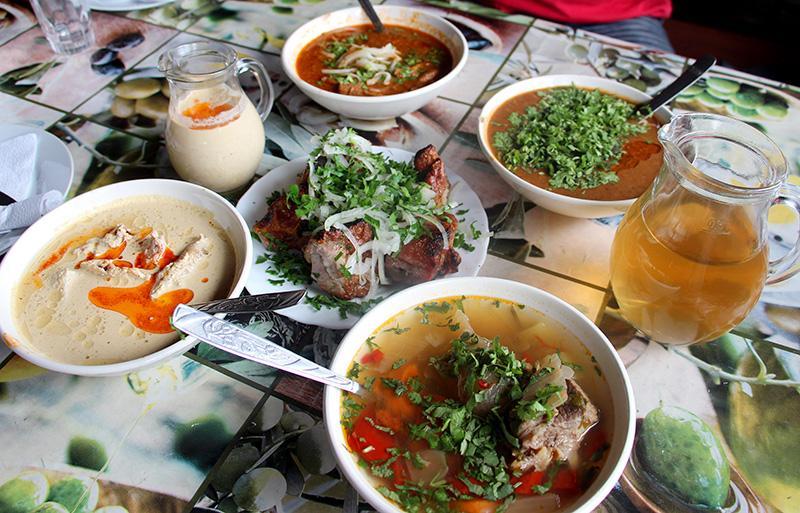 Цены в ресторанах Абхазии