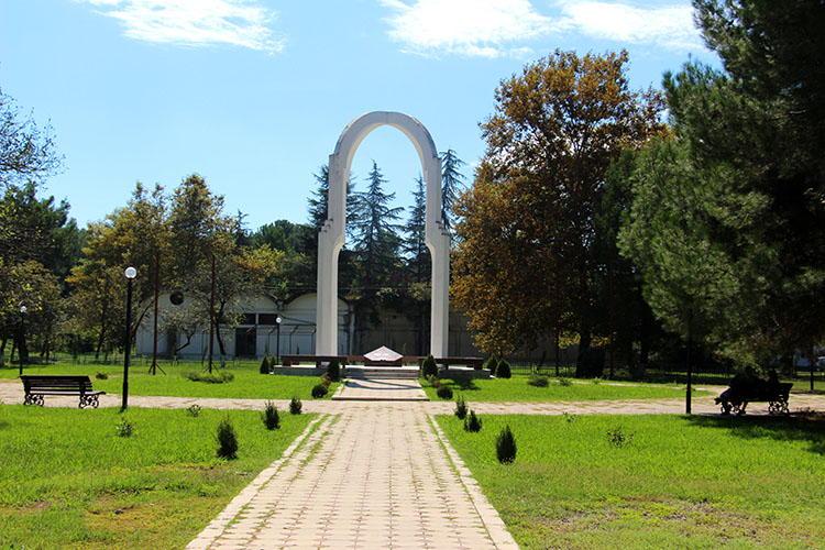 Мемориал в Пицунде