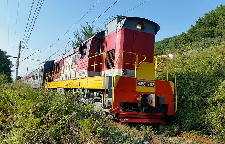 Как добраться до Абхазии на поезде