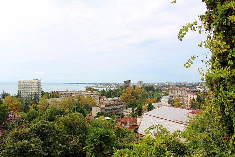 Сухум - отдых на море в Абхазии