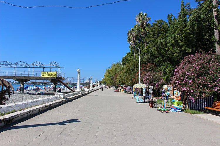 Отдых в Сухуме: отзывы, море, пляжи, фото