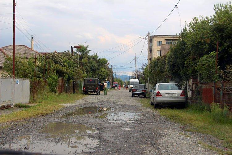 Одна из улиц района Маяк