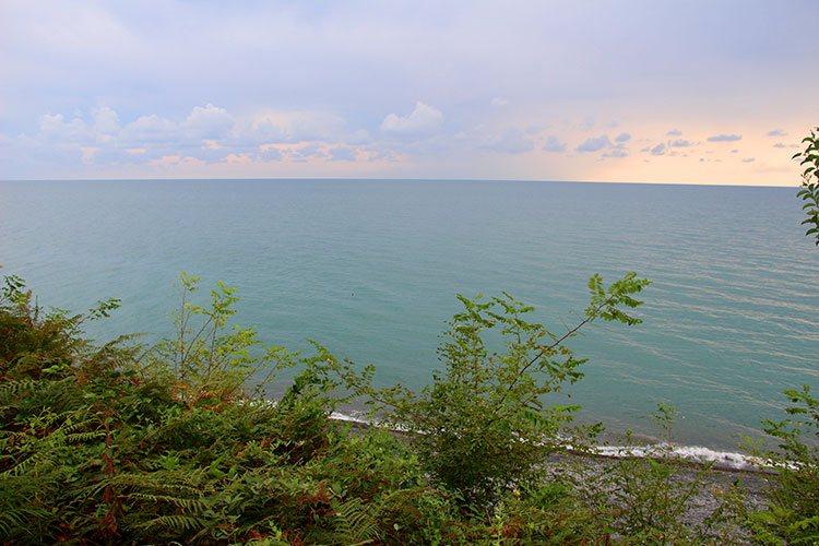 Вид на море из крепости
