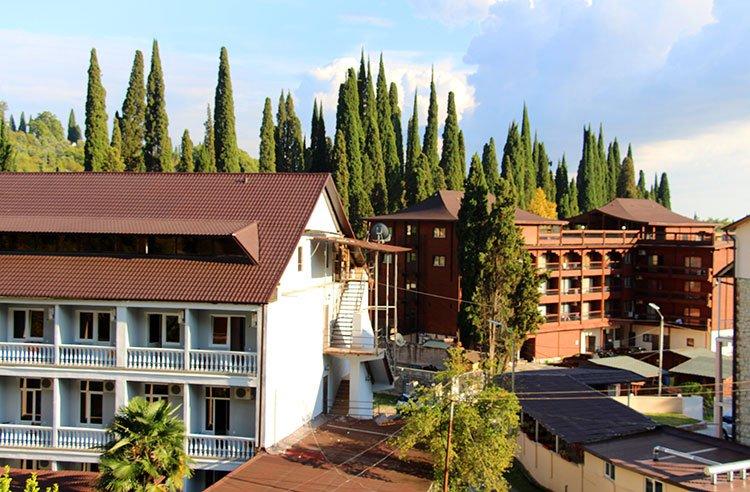 Отели исторической части Нового Афона