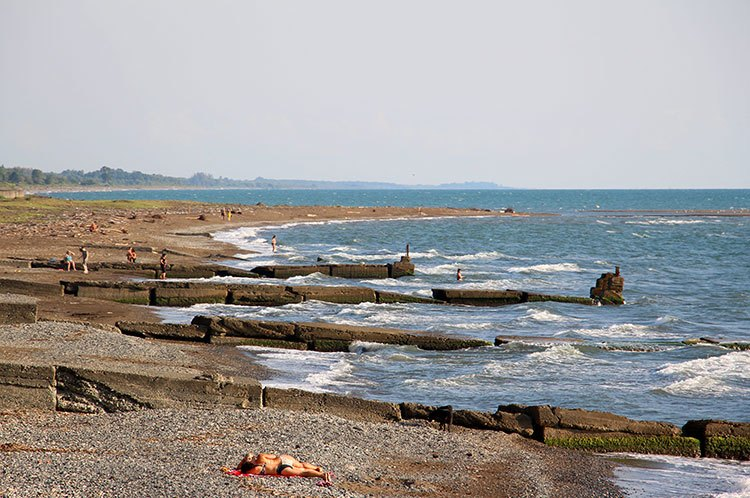 Пляжи Очамчиры
