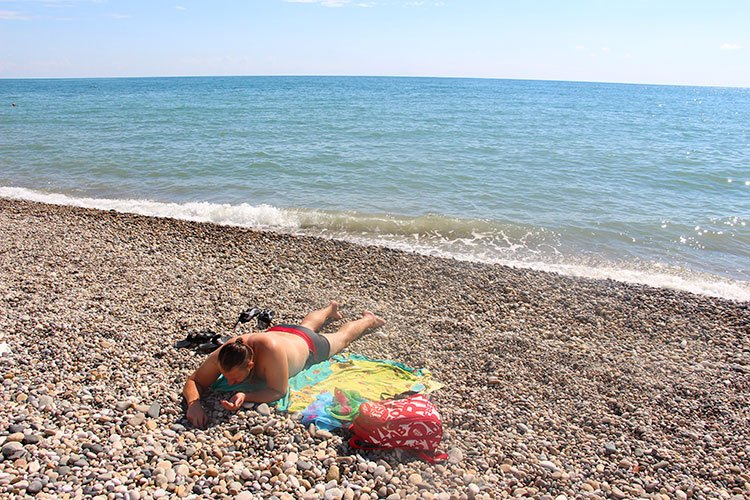 Отдых на море в Новом Афоне: пляжи, достопримечательности, карта и фото